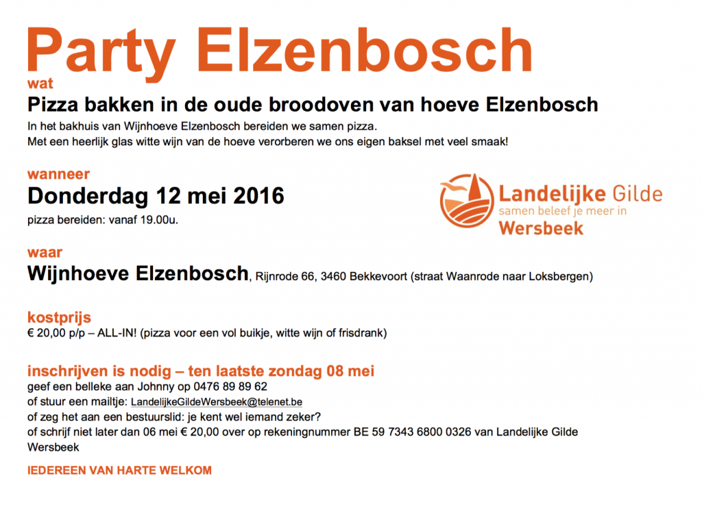 Party Elzenbosch