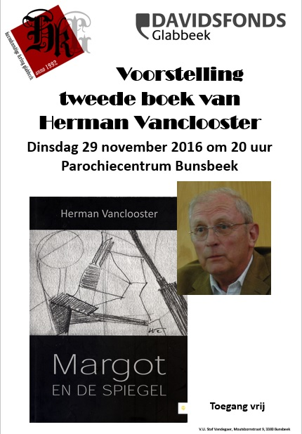 Boekvoorstelling Herman Vanclooster - Glabbeek