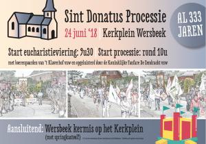 Processie Wersbeek 2018
